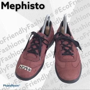 Mephisto Women's Laser Lace-up Shoes- Oxford